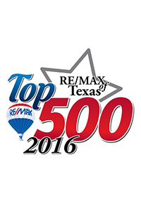 RE/MAX of Texas Top 500, 2016